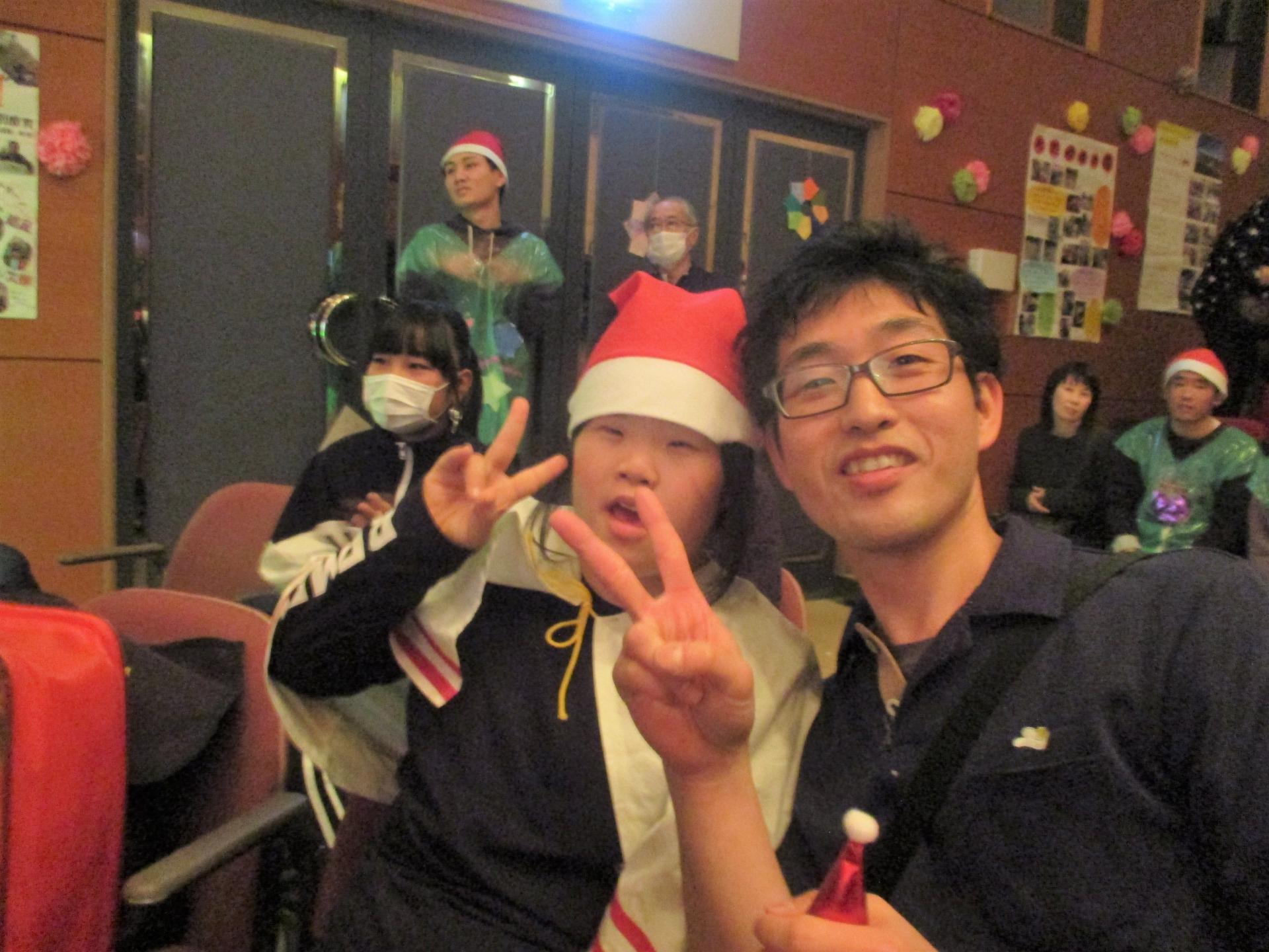 管理者の木村さん(写真右)。色々話を聞いてくれますよ♪